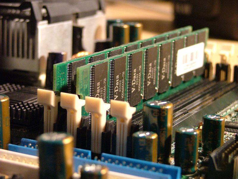 RAM memory of a PC